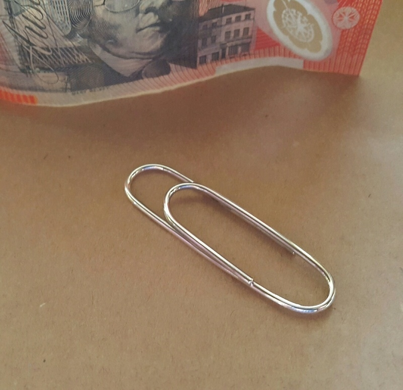 paperclip money clip